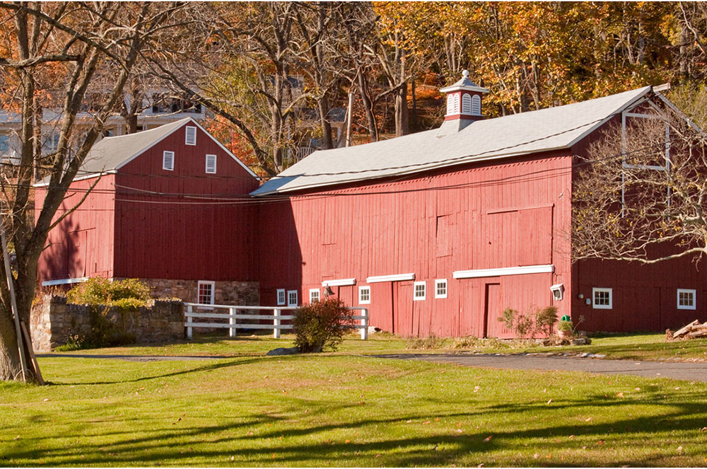 Red Barn in Boonton Township